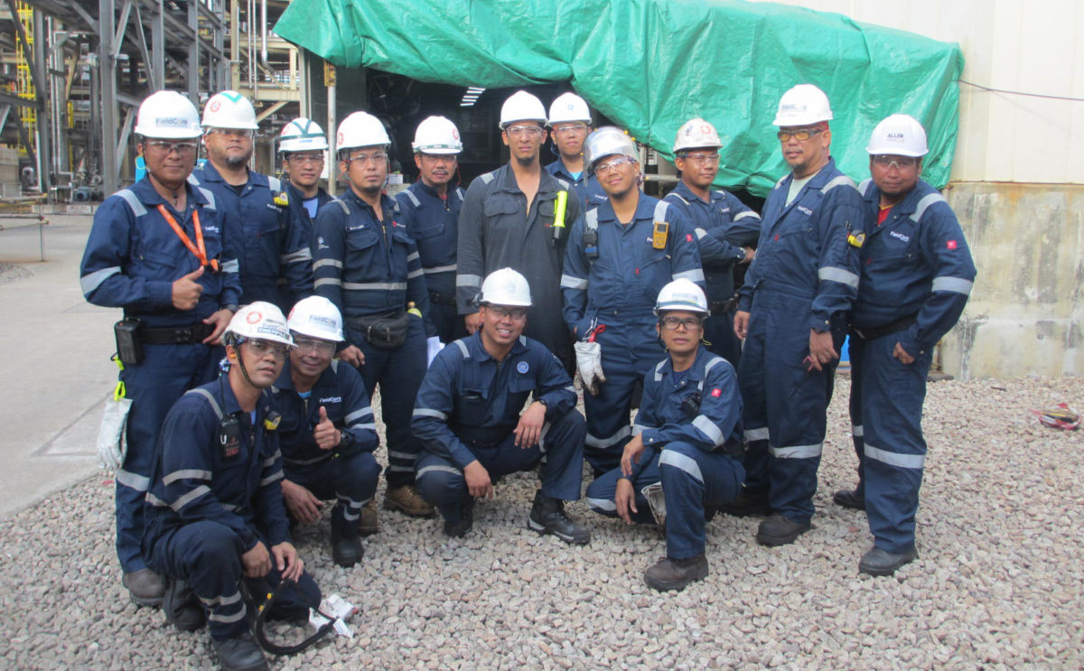 INSPECTION FOR ENHANCED SAFETY & PERFORMANCE AT THE EXXONMOBIL CHEMICAL PLANT