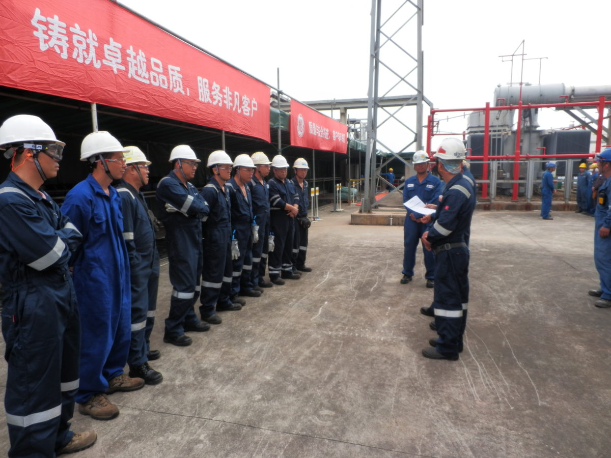 POWERING THE OIL & GAS SECTOR IN GUANGDONG PROVINCE, CHINA