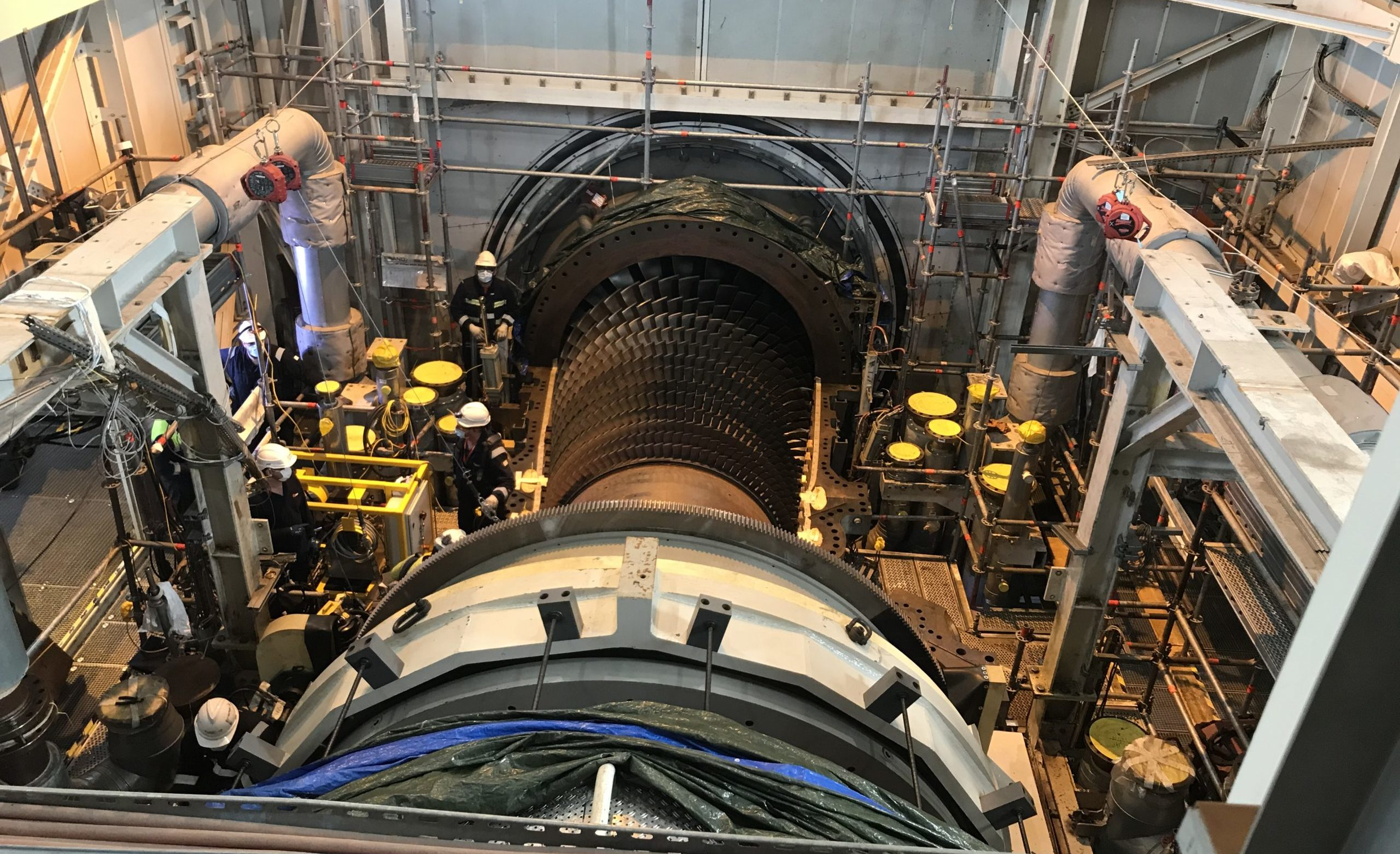 MAINTENANCE PROJECT OF THE GUINNESS WORLD RECORD HOLDER 9HA TURBINE AT BOUCHAIN POWER STATION