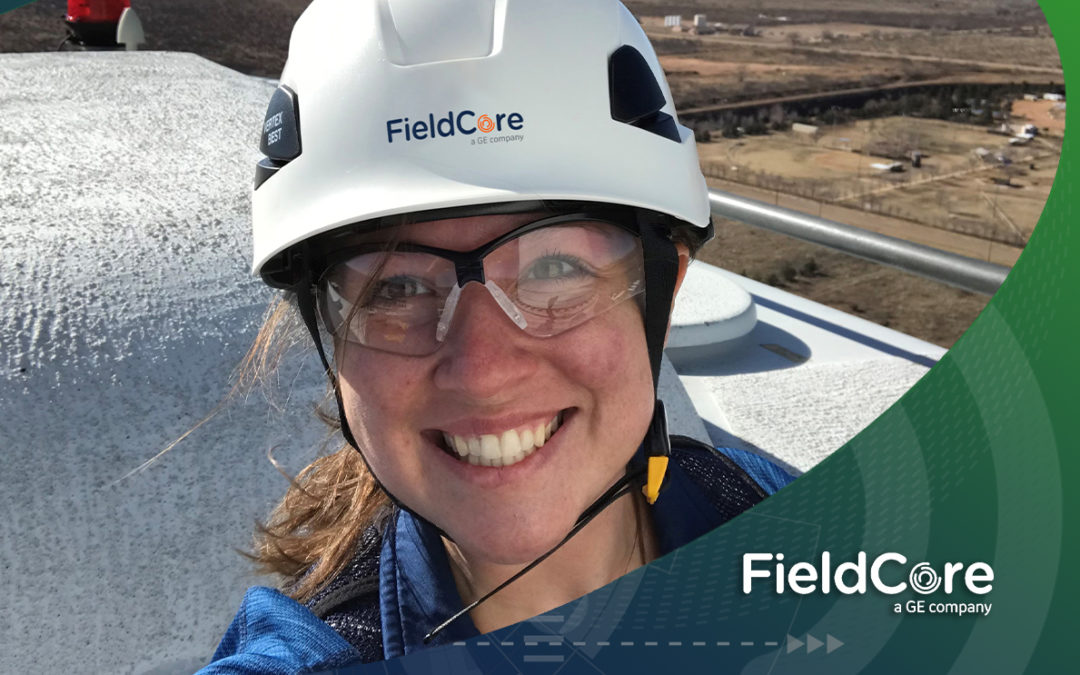 ENSURING QUALITY FROM THE TOP OF A WIND TURBINE